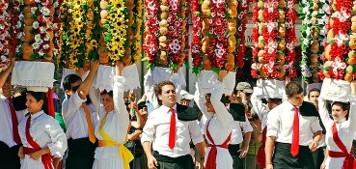 פסטיבל חגיגות המגשים בתומר