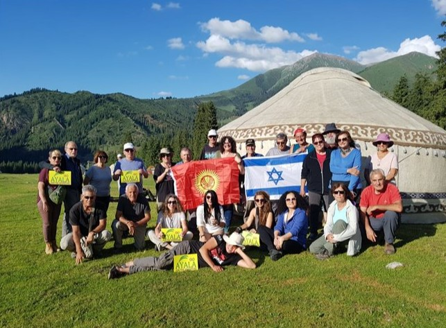 טיול מאורגן לקירגיזסטאן