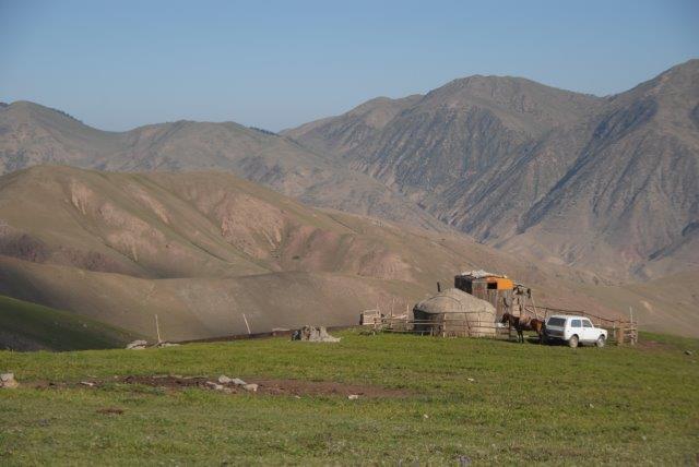 ג'יפים בקירגיסטאן