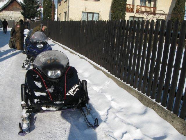 סוף שבוע טרקטורוני שלג ברומניה
