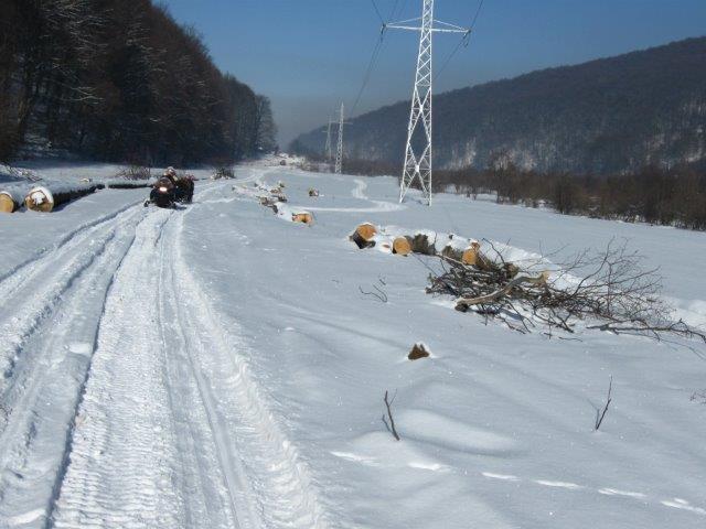 אופנועי שלג בגיאורגיה