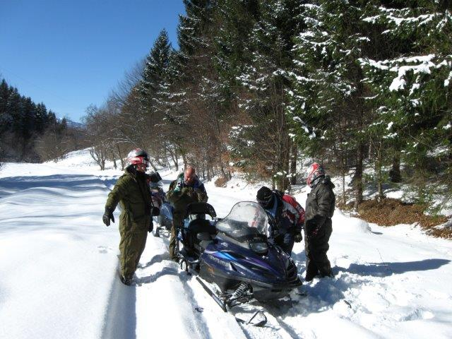 טיול אופנועי שלג בגיאורגיה