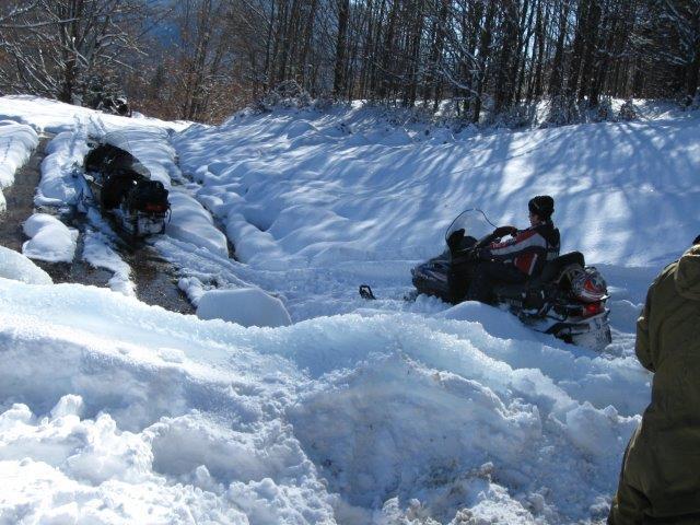 טרקטורוני שלג ברומניה