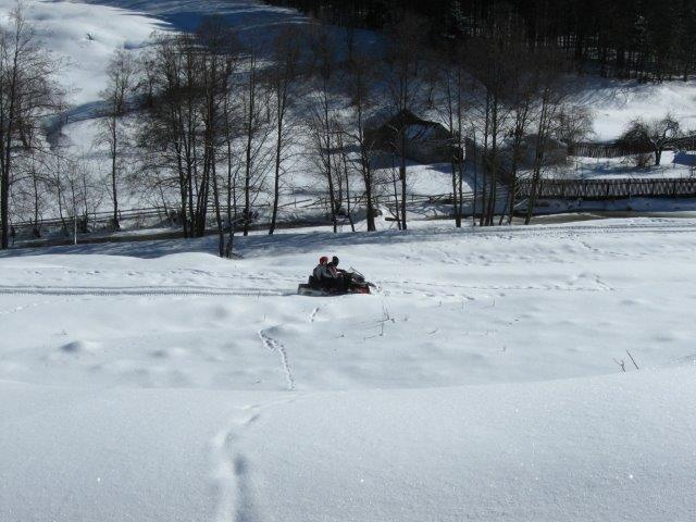 טרקטורוני שלג בגיאורגיה