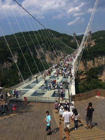 גשר הזכוכית בסין