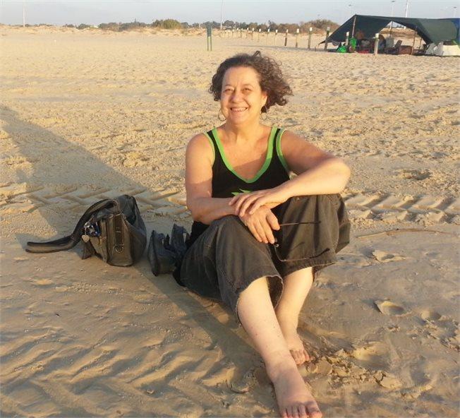 ליאור עלמה וקסלר, מדריכת טיולים איילה גיאוגרפית